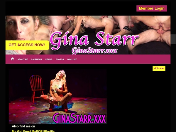 Accounts GinaStarr