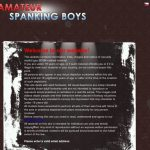 Amateur Spanking Boys Valid Account