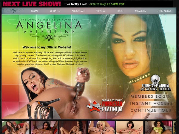 Angelinavalentine Login Password