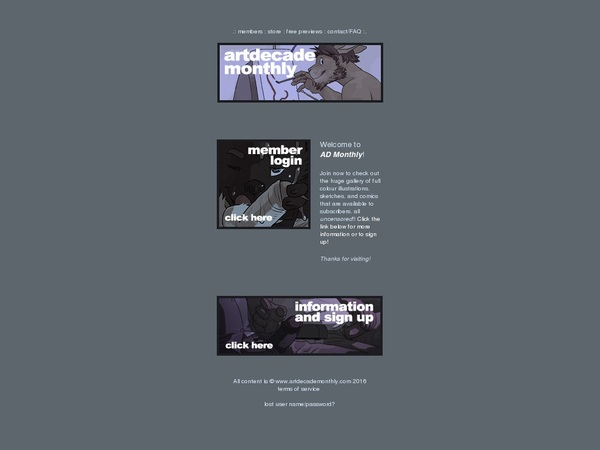 Art Decade Monthly Full Site