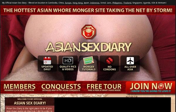 Asian Sex Diary Sign