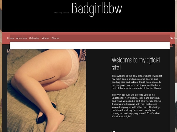BAD GIRL BBW Limited Deal