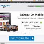 Badoinkgay Discount Porno