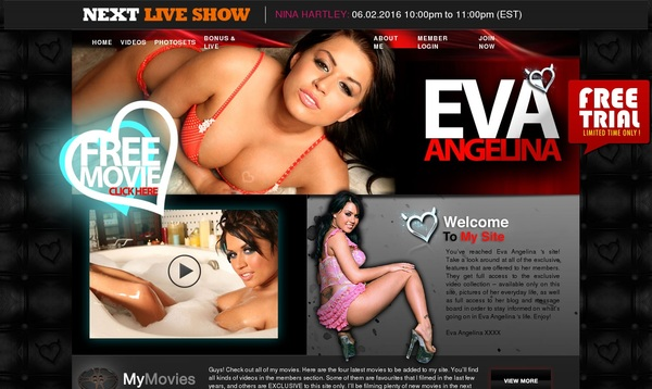 Become Eva Angelina XXX Member