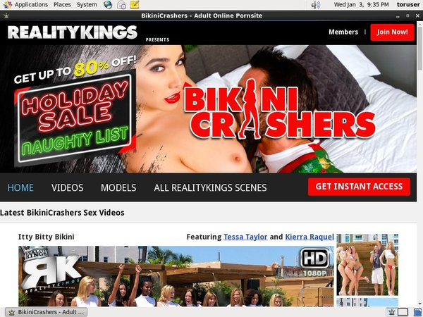 Bikinicrashers.com Paypal Sign Up