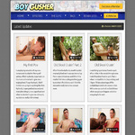 Boy Gusher Paysite Discounts