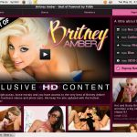 Britney Amber Discount Sign Up