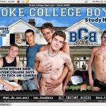 Brokecollegeboys.com Discount Checkout