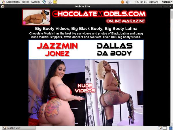 Chocolate Models Credits