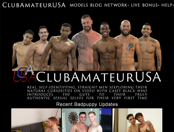 Club Amateur USA Signup Discount