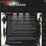 Collegeboyspank Account Premium
