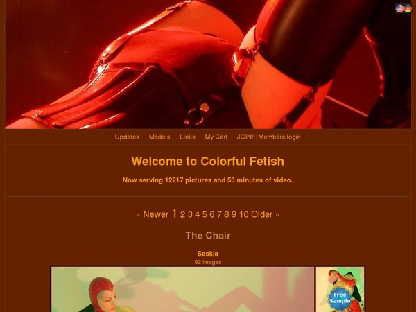 Colorful Fetish With Paypal