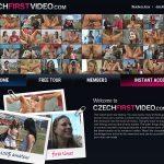 Czech First Video Discount Accounts