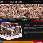 Czech Mega Swingers Latest Passwords