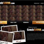 Czech Sauna With No Card