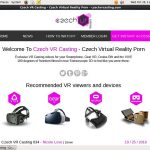Czech VR Casting サイン アップ