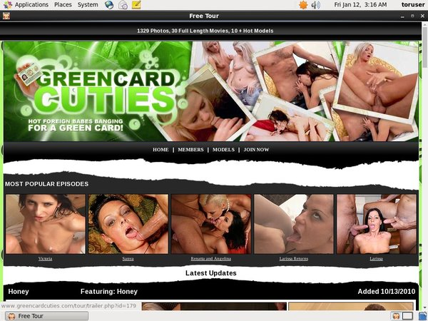 Discount On Green Card Cuties
