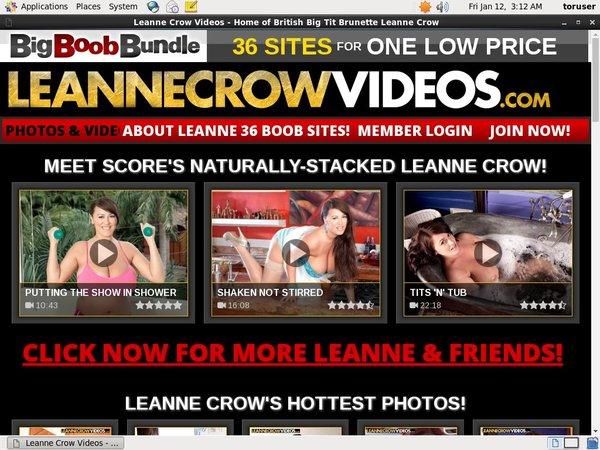 Discounted Leanne Crow Videos Membership