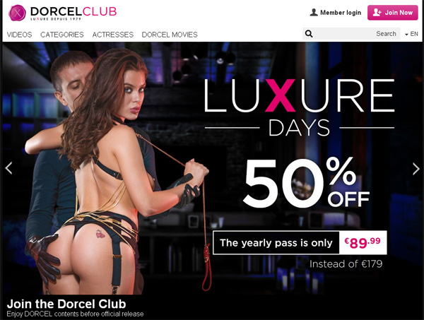 Dorcelclub Free Accounts And Passwords