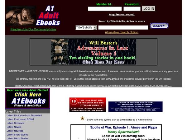 Ebooks Adult A1 Sex