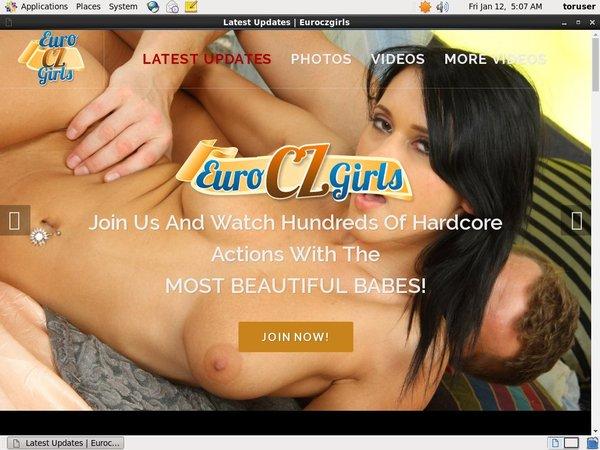 Euro Czech Girls Site Passwords