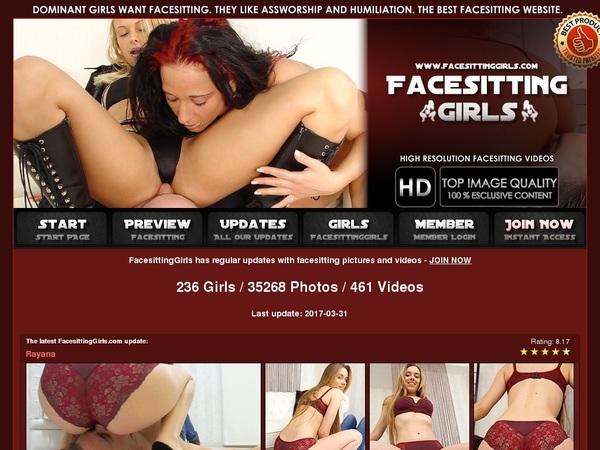 Facesitting Girls Ass Worship