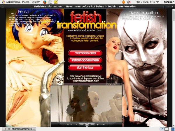Fetish Transformation Billing Form