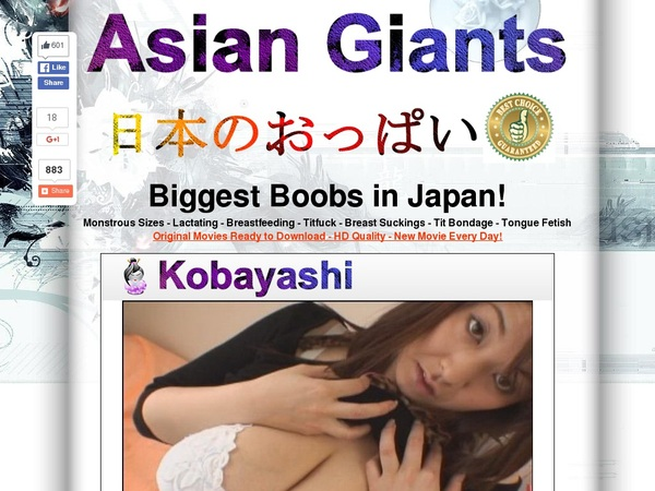 Free Accounts On Asiangiants.com
