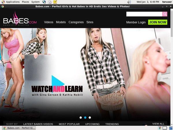 Free Babes.com Discounts