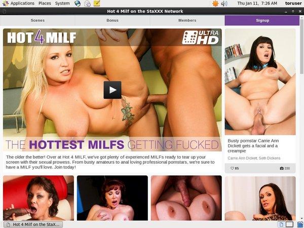 Free Hot4milf.com Trial Deal