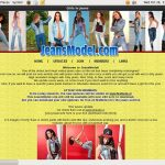 Free Jeansmodel Discount Offer