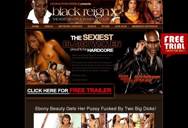 Free Logins X Reign Black