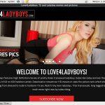 Free Love 4 LadyBoys Hacked Login