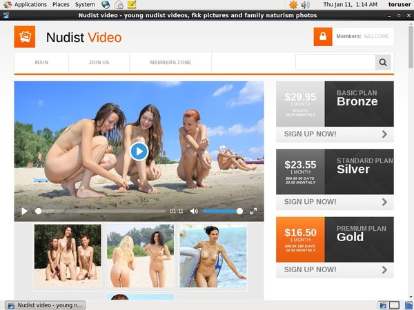 Free Nudistvideo Membership Discount