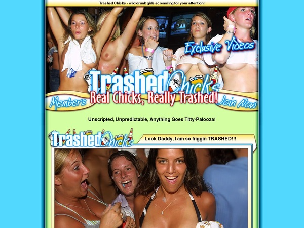 Free Trial On Chicks Trashed