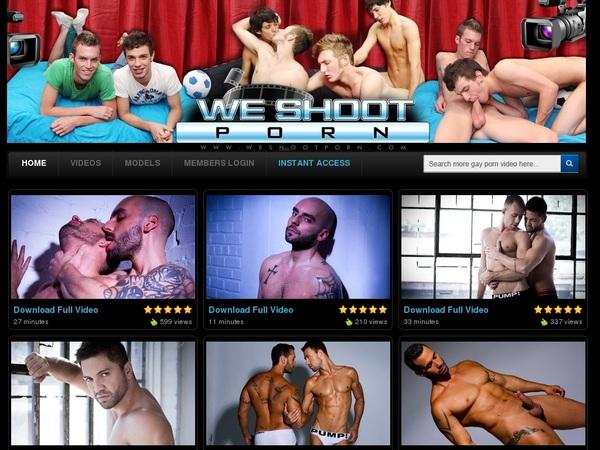 Free We Shoot Porn Username
