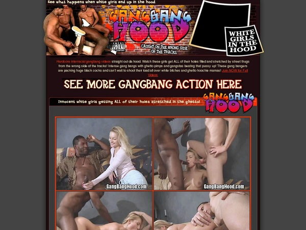 Gangbanghood.com Sofort Zugang