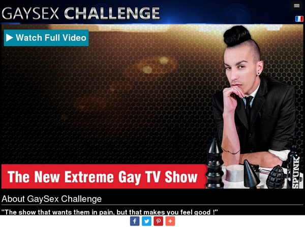 Gaysexchallenge Discount Passes