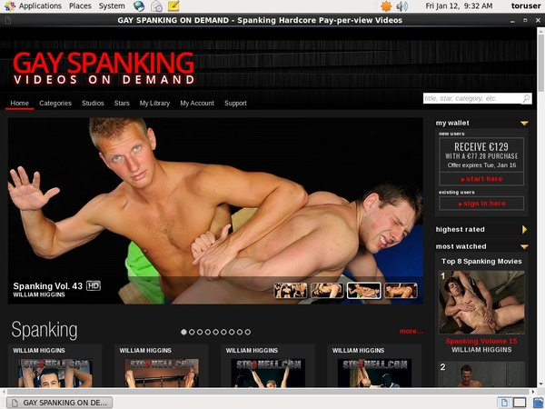 Gayspanking Movies