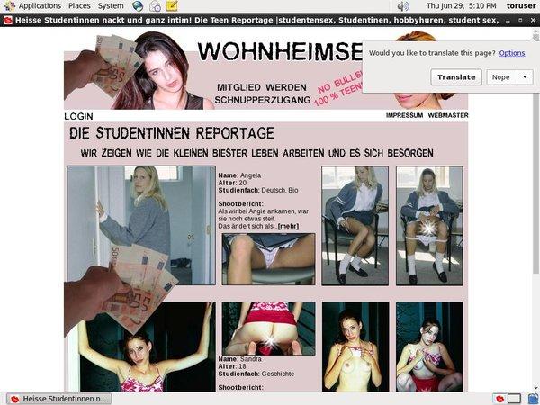 Get A Free Wohnheimsex Account