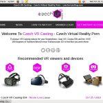 Get Czech VR Casting Membership Discount