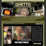 Ghetto Confessions Dvd