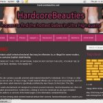 Hardcore Beauties Discount Promo