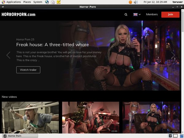 Horror Porn Buy Credits