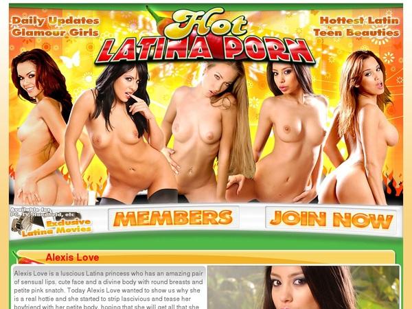 Hotlatinaporn.com Promo Trial