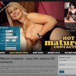 Hotmaturecontacts Over 40s