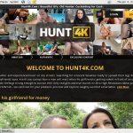 Hunt 4k Login Details
