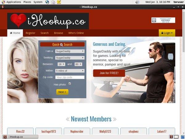Ihookup.co Passwords Accounts