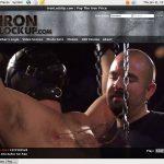 Iron Lock Up Bank