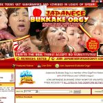 Japanese Bukkake Orgy Members
